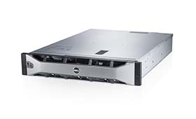 Dell PowerEdge R520 rack server with bezel.